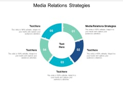 Media Relations Strategies Ppt PowerPoint Presentation Styles File Formats Cpb