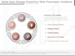Media Sales Strategy Powerpoint Slide Presentation Guidelines