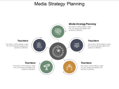 Media Strategy Planning Ppt PowerPoint Presentation Icon Aids Cpb