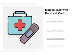 Medical Box With Band Aid Vector Ppt Powerpoint Presentation Outline Rules