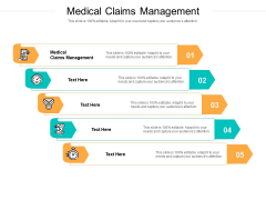 Medical Claims Management Ppt PowerPoint Presentation Styles Visuals Cpb Pdf