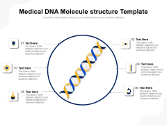 Medical DNA Molecule Structure Template Ppt PowerPoint Presentation Professional Inspiration PDF