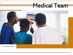 Medical Team Individual Meet Doctors Team Ppt PowerPoint Presentation Complete Deck