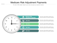 Medicare Risk Adjustment Payments Ppt PowerPoint Presentation Styles Graphics Example Cpb Pdf