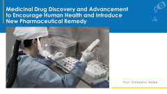 Medicinal Drug Discovery And Advancement To Encourage Human Health And Introduce New Pharmaceutical Remedy Complete Deck