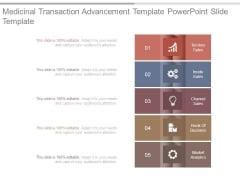 Medicinal Transaction Advancement Template Powerpoint Slide Template