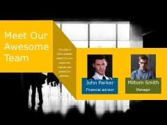 Meet Our Awesome Team Ppt PowerPoint Presentation Icon Styles