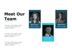 Meet Our Team And Communication Ppt PowerPoint Presentation Slides Grid
