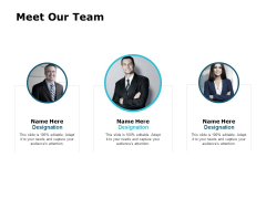 Meet Our Team Communication Introduction Ppt PowerPoint Presentation Gallery Influencers