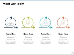 Meet Our Team Communication Ppt PowerPoint Presentation Infographic Template Slide Portrait
