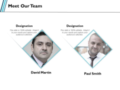 Meet Our Team Communication Ppt PowerPoint Presentation Layouts Professional