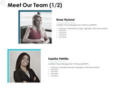 Meet Our Team Communication Ppt PowerPoint Presentation Outline Design Templates