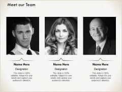 Meet Our Team Communication Ppt PowerPoint Presentation Portfolio Clipart Images