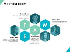 Meet Our Team Communication Ppt PowerPoint Presentation Slides Brochure