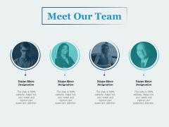 Meet Our Team Communication Ppt PowerPoint Presentation Slides Templates