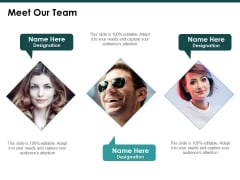 Meet Our Team Communication Ppt PowerPoint Presentation Summary Layout