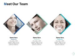 meet our team communication ppt powerpoint presentation summary