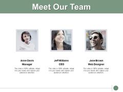 Meet Our Team Communication Ppt PowerPoint Presentation Summary Slides