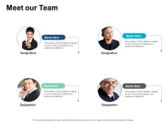 Meet Our Team Competitive Differentiation Ppt PowerPoint Presentation Model Files