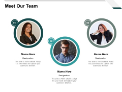 Meet Our Team Planning Ppt PowerPoint Presentation Summary Gallery