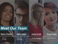 Meet Our Team Ppt PowerPoint Presentation Backgrounds