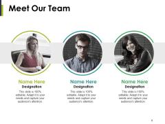 Meet Our Team Ppt PowerPoint Presentation File Portrait
