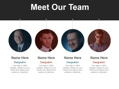 Meet Our Team Ppt PowerPoint Presentation Styles