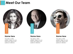 Meet Our Team Sample Budget Ppt Ppt PowerPoint Presentation Infographic Template Show