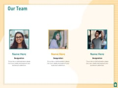 Meet Project Deadlines Through Priority Matrix Our Team Ppt Pictures Elements PDF
