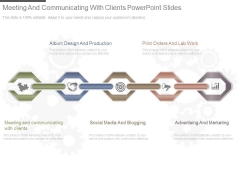 Meeting And Communicating With Clients Powerpoint Slides