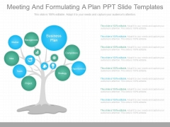 Meeting And Formulating A Plan Ppt Slide Templates