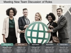 meeting new team discussion of roles ppt powerpoint presentation professional example topics
