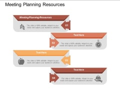 Meeting Planning Resources Ppt Powerpoint Presentation Templates Cpb