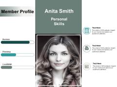 Member Profile Business Ppt Powerpoint Presentation Ideas Portrait