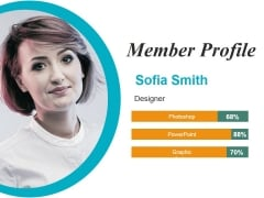 Member Profile Ppt Powerpoint Presentation Outline Objects
