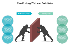 Men Pushing Wall From Both Sides Ppt Powerpoint Presentation Portfolio Images