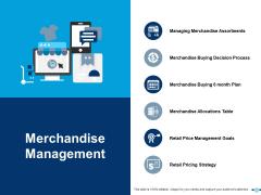Merchandise Management Merchandise Allocations Table Ppt PowerPoint Presentation Show Layout Ideas