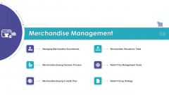 Merchandising Business Analysis Merchandise Management Ppt Gallery Information PDF