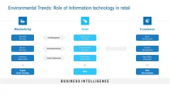 Merchandising Industry Analysis Environmental Trends Role Of Information Technology In Retail Summary PDF