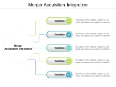 Merger Acquisition Integration Ppt PowerPoint Presentation Icon Structure Cpb