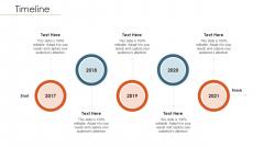 Merger Agreement Pitch Deck Timeline Background PDF