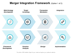 Merger Integration Framework Ppt PowerPoint Presentation Outline Vector