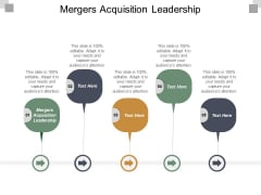 Mergers Acquisition Leadership Ppt PowerPoint Presentation Styles Design Templates Cpb