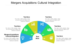 Mergers Acquisitions Cultural Integration Ppt PowerPoint Presentation Pictures Maker Cpb