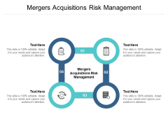 Mergers Acquisitions Risk Management Ppt PowerPoint Presentation Pictures Icons Cpb