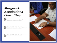 Mergers And Acquisitions Consulting Ppt Powerpoint Presentation Inspiration Structure