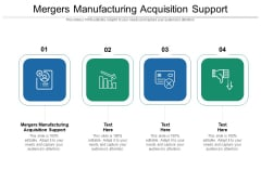 Mergers Manufacturing Acquisition Support Ppt PowerPoint Presentation Outline Deck Cpb Pdf