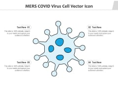 Mers COVID Virus Cell Vector Icon Ppt PowerPoint Presentation Infographic Template Maker PDF