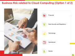 Mesh Computing Technology Hybrid Private Public Iaas Paas Saas Workplan Business Risk Related To Cloud Computing Data Diagrams PDF