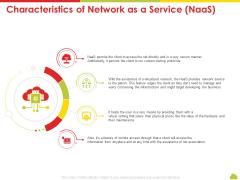 Mesh Computing Technology Hybrid Private Public Iaas Paas Saas Workplan Characteristics Of Network As A Service Naas Portrait PDF